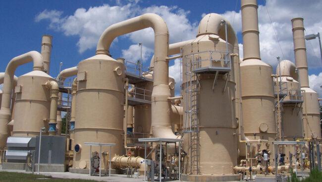 Pompa centrifuga per i processi di trattamento aria