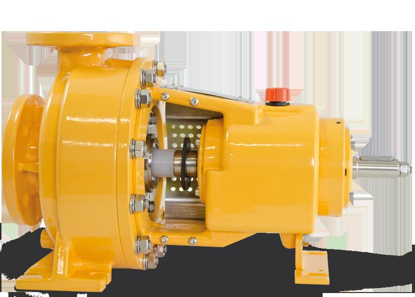 pompe centrifughe rivestite a tenuta meccanica