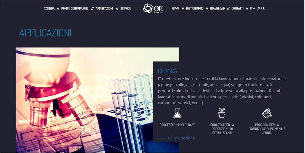 nuovo sito CDR Pompe