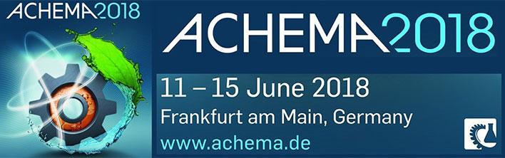 Achema 2018 Francoforte