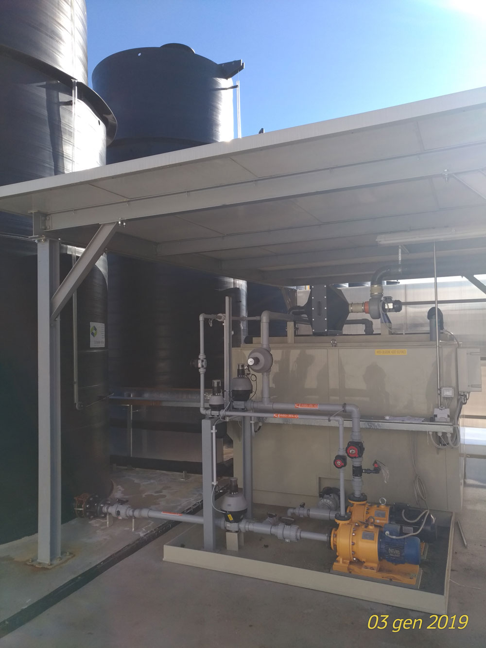 Pompa centrifuga riparata in 24 ore