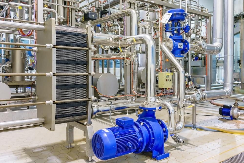 pompe centrifughe nei processi di termoregolazione
