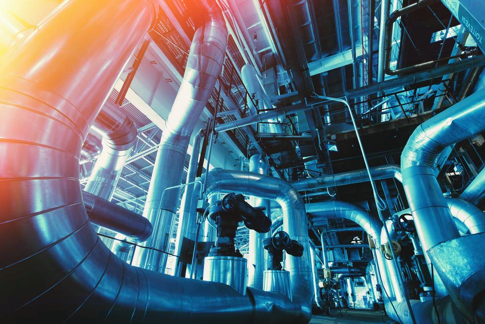 sistema di termoregolazione industriale