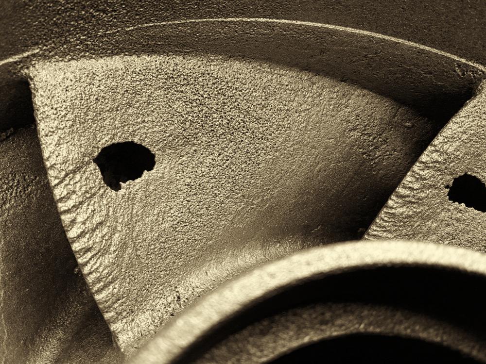 danni da cavitazione pompa centrifuga