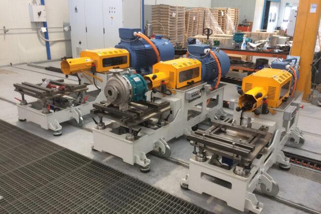 Torsiometro pompe centrifughe