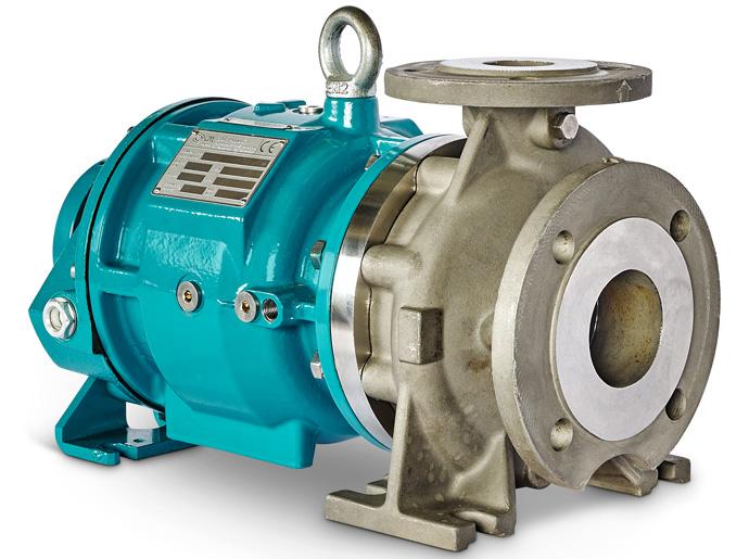 pompa centrifuga a trascinamento magnetico