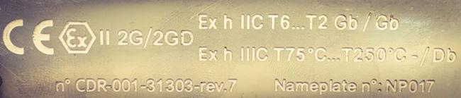 ATEX-zertifiziert CDR Pompe